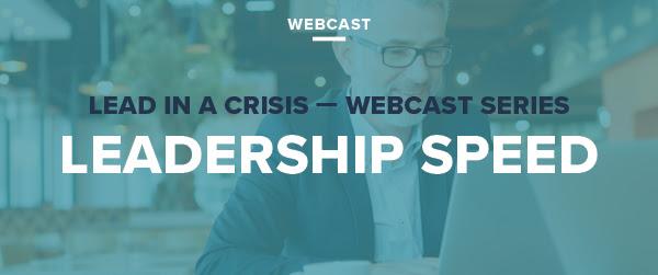leadership speed webinar